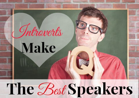 Embrace introversion as a public speaking strength