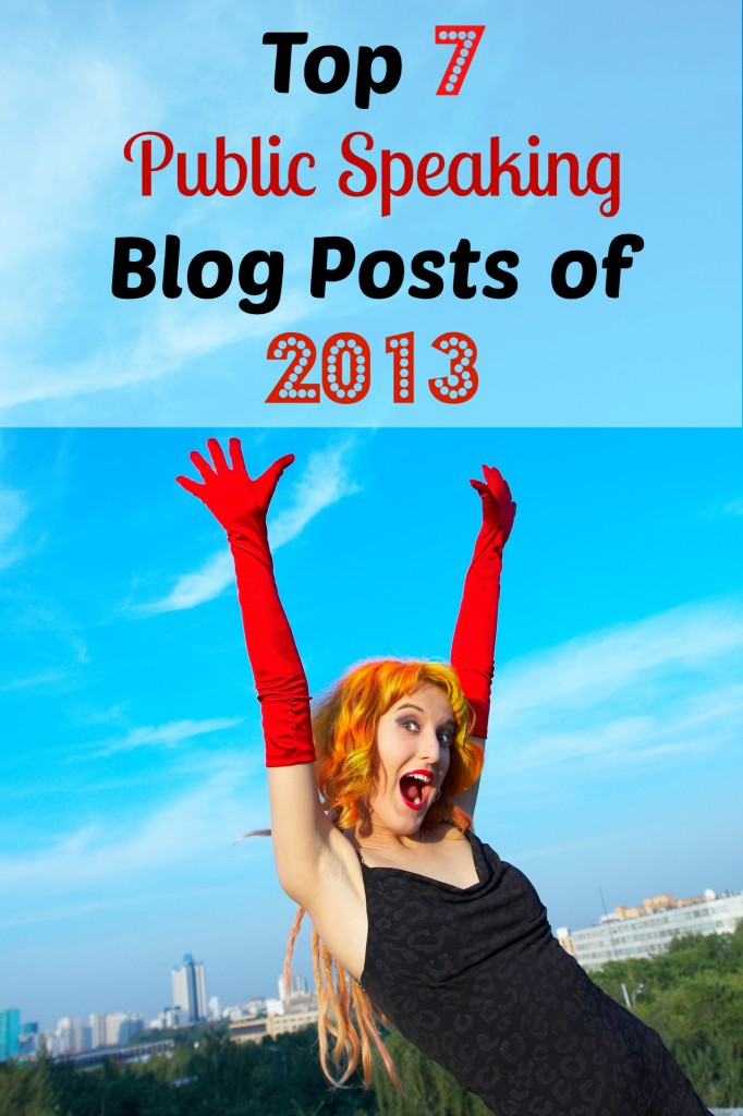 Top 7 Posts on Public Speaking and Communication in 2013