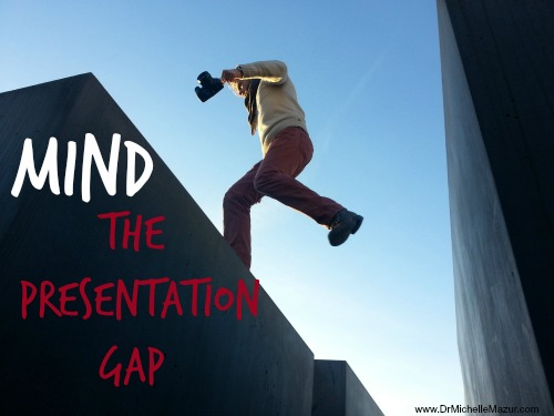 Mind the presentation gap