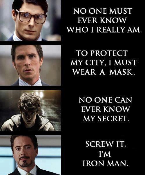 Just Be Iron Man