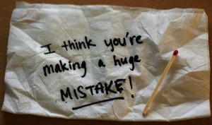 Are you making the biggest public speaking mistake?