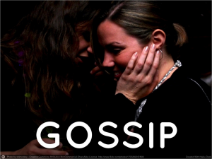 How do you stop office gossip once and for all?