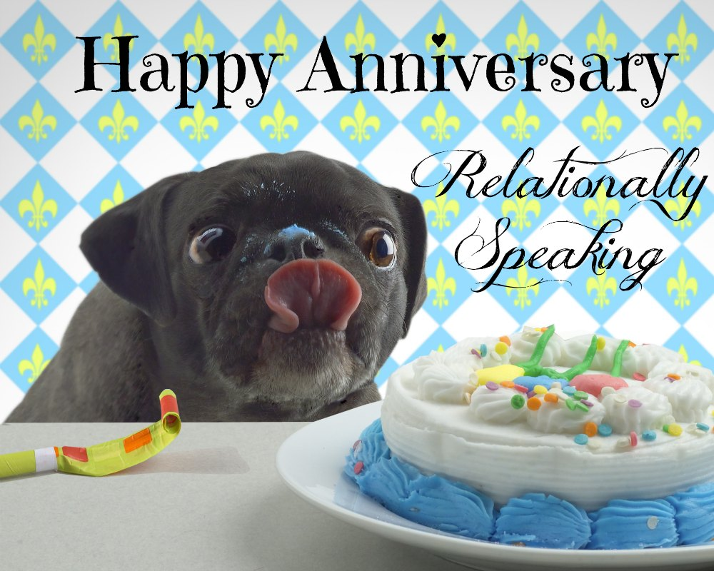 Happy 2nd Anniversay to my blog - Relationally Speaking
