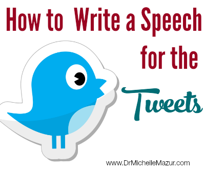 How to write the speech