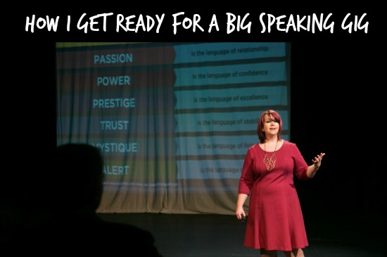 Get ready for a big speaking gig