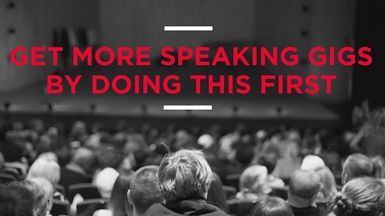 Get More Speaking Gigs